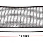 18' Portable Mini Tennis Net