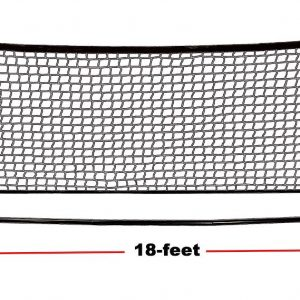 18' Portable Mini Tennis Net