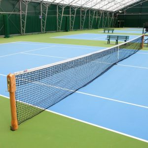 VERMONT 3.5MM DT CHAMPIONSHIP TENNIS NET [42FT DOUBLES - 10KG] (DOUBLE LOOP CABLE TYPE)