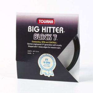 Big Hitter Black 7 16/17 Gauge Single Pack – Racket String