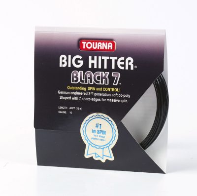 Big Hitter Black 7 16/17 Gauge Single Pack – Racket String
