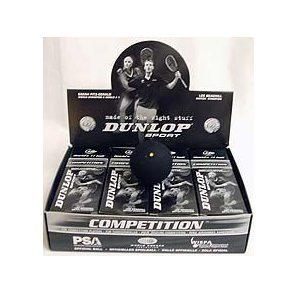 Dunlop Competition Squash Balls - 1 Dozen Balls