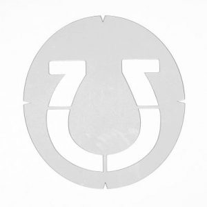 Lucky Horseshoe – Racket String Template Stencil