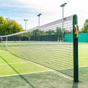 VERMONT 2.5MM TENNIS NET [42FT DOUBLES - 5KG] - DOUBLE LOOP Cable Type